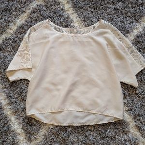 Anthropology Paper Crane Blouse